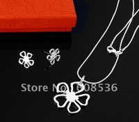 fashion jewelry,925 sterling silver Necklace & bracelet, 925 silver jewelry, Brand New S19