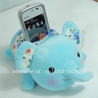 J3 Cute! METOO Baby elephant mobile stand cell plush phone holder Free Shipping