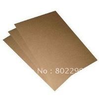 A4 Label Paper: 210*297mmmm Address Stickers, kraft paper; brown packing paper