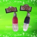 free shipping! 2013 Fashion plastic simulation efficient lightbulb key chain. light fashion key charm