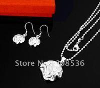 fashion jewelry,925 sterling silver Necklace & bracelet, 925 silver jewelry, Brand New S33