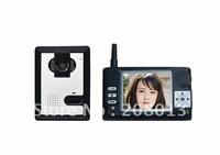 Cheapest Hotsale Free Shipping Long distance 20Pcs/carton 3.5 inch wireless video intercom Best quality