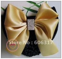 lot Free shipping high quality  worker bowknot barrette/nurse clip/Snood Net /Stewardess hair clip
