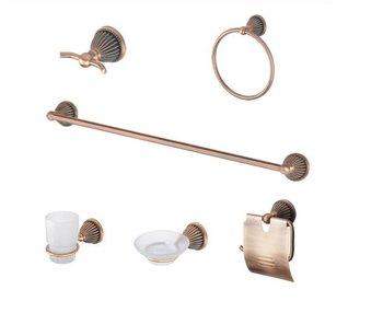 Free Shipping ,Bathroom Accessories Set ,  Bathroom Set ,Hardware Set ,Six Pcs Set , Towel Bar ,Robe Hook Paper Holder CY-258/6