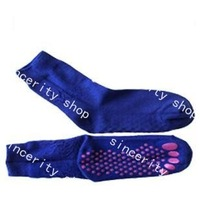 free shipping tourmaline Automatic heat socks massage massager Far infrared one pairs