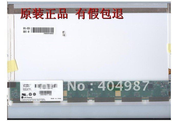 Original and Brand new A+ LP133WH1 TLA1 LTN133AT17 N133B6-L02 B133XW02 V0 for HP CQ35 1366*768 LED 40pin(China (Mainland))