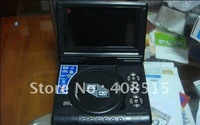 Free Shipping 7.8 inch TFT LCD panel portable player is compatible with VCD CD MP3 JPEG MP4 1pcs/lot