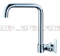 Brass Chrome Single Cold Tap Kitchen Faucet wall Mounted NY16051