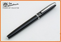 Wholesale - -1pcs PICASSO 916 NOBLE BLACK F NIB 22 KGP FOUNTAIN PEN