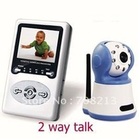 Best selling 2.4G wireless camera kit baby monitor  wireless baby monitor,two-way speak, DHL/EMS free shippng