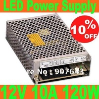 Big discount 12V 10A 120W LED Power Supply,Switching Power Supply AC100-240V input