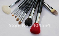 Free shipping 9 Pieces/Sets Professional Makeup Brush Sets Cosmetic Brush Kit+PU Bag