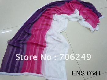 FREE SHIPPING,chiffon scarf,patchwork shawl,head wear,2011 new design,fashion shawl,polyester scarf