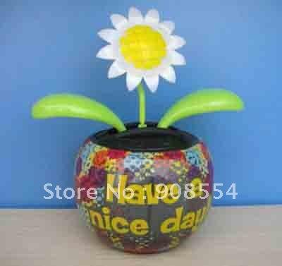 solar powered dancing toy 10pcs per lot Free shipping via China post air mail(China (Mainland))