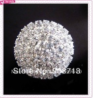 small 30 mm rhinestone buckle/ribbon sliders/brooch pins