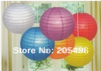 FREE SHIPPING! Chinese Japanese Tissue Paper Lantern / Lamps 12 inch wedding / home / christmas favor decoration wholesale(China (Mainland))