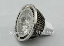 Free Shipping ,High quality,New design Aluminum fins ,MR16 high power 3*1w LED spotlight,(China (Mainland))