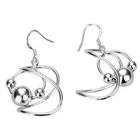 fashion jewelry,925 sterling silver earring, 925 sterling jewelry,Brand New E125