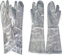 Wholesale Aluminium Foil Heat Insulation Gloves 500 Degree 36CM