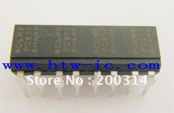 Pc817, pc817-4, dip-16, alta densidad tipo de montaje fotoacoplador, circuito integrado, y el envío gratis