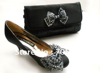 Shoe Bag Perfect Combination Bow Accessories Sweet Ladies Bag Party Bag High Hell Shoes Fashion Shoes Shoe Bag