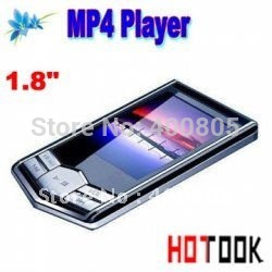 Dropship 4GB 1.8&quot; TFT Screen slim Diamond black MP4 MP3 music Player Christmas Gift -- free shipping(China (Mainland))