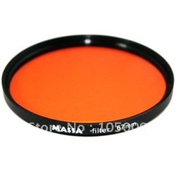 67mm 67 mm Orange Color lens Filter for canon nikon pentax DSLR(China (Mainland))