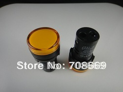 Brand New Yellow AC 36V 22mm LED Power Indicator Signal Light Wholesale(China (Mainland))