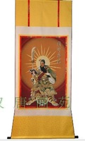 Limited Edition,special products of China,Chinese Portraits Painting Guangong RW-110,181*83,New Arrival,Hot sale