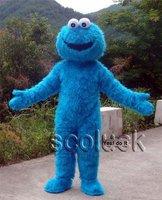 Plush Toy Sesame Street cookie Monster Cartoon Mascot Costume for Halloween