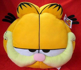 Plush doll Garfield dolls hold pillow cushion plush toy factory supply good as a gift 2pcs/lot freeshipping