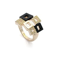 Italina Rigant 18K Gold Plated Rings for women