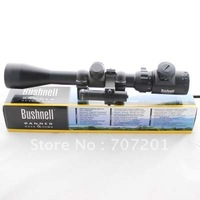 Top quality! 3-9x40E RED & GREEN Illuminated Riflescope Hunting Scope + Red Laser ,free shipping