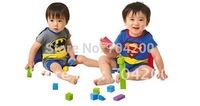 Superman Batman Infant rompers/Kids Costume/Children's Costume
