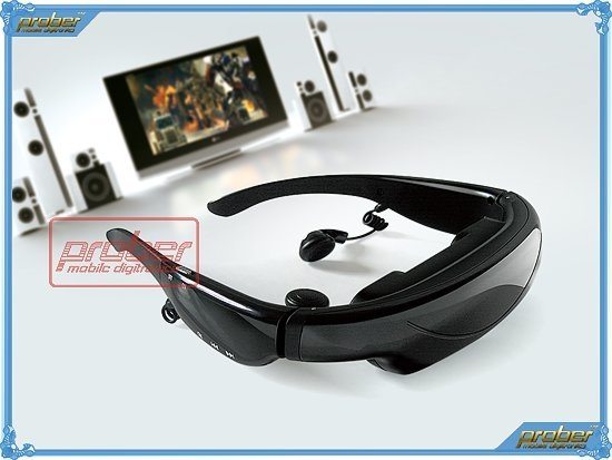 "62"" Download Movie Video Glasses/ Goggles/Eyeglasses 16:9 Screen+ DHL Free Shipping!(China (Mainland))"