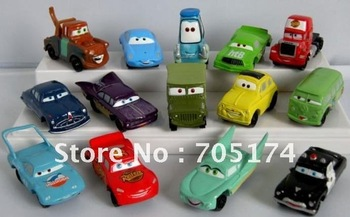 mini Pixar Cars figure set 14 style Up Truck CAR PLEX MINI car toy story