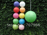 70pcs best selling 10cm chinese Paper lantern Christmas/party/wdding for free shipping