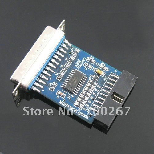 LPT parallel port jtag Programmer For ARM H-JTAG(China (Mainland))
