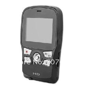 "Wholesale - 2D/3D 720P 2.4"" Screen Camcorder 3D DV-HD125 Camera Video camera(China (Mainland))"