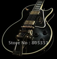 best Musical Instruments Custom Shop '57 VOS yellow Star Black classic electric Guitar