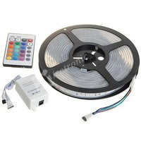Waterproof LED Light Strip,RGB 5m SMD 150x5050  DC 12V,Free shipping