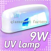 Wholesale Profashional  UV Nail Tool 9W Curing GEL UV Lamp Dryer /220V-EU PLUG 031