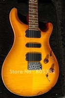 best Musical Instruments PRS 513 Vintage Yellow Electric Guitar