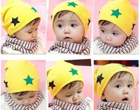 12PCS/LOT-five-pointed star Baby cap Baby hat children/Toddler Cap/Infant hats