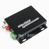 Free Shipping,Wholesale,Cheap 1 Channel digital  Video Optical Tranceiver/CCTV Video Transceiver for PTZ Camera