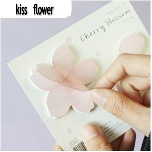 Free Shipping/Cute cherry Blossom memo/label/sticker/Notepad/Memo/Paper notebook/kid's gift/Fashion Gift/Wholesale(China (Mainland))