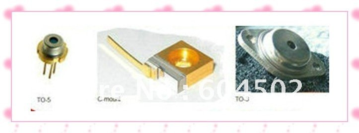 Wholesales 2pecs/lot infrared laser diode 830nm 1w /1000mw C-mount/TO-3 free shipping(China (Mainland))
