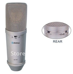 Free shipping pro studio FET condenser microphone,recording microphone, Transistor electric capacity microphone(China (Mainland))