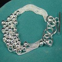 fashion jewelry,925 sterling silver Bracelets,Brand New B120