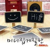 Free Shipping South Korea Wooden blackboard clip Wooden message folder,painted wooden clamps, bookmark folders, decorative folde